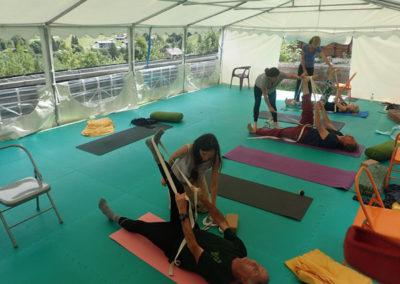 cours de yoga la clusaz
